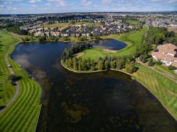 Aerial photo of Lewis Estates Golf Course