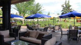 The Grill at Lewis Estates Golf Course patio