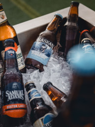 Craft beer from The Grill at Lewis Estates Golf Course